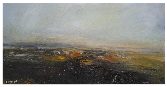120x60cm Twilight Across Burbage Moor £1550