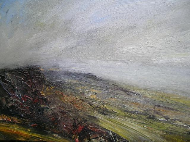 High Wind Curbar Edge 120 x 90cm