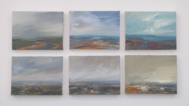 Pleinair Acrylic Studies on Canvas Each 20x15cm