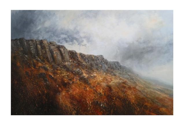 Autumn Morning Stanage Edge 150x100cm £1950n