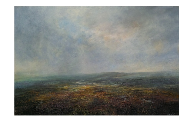 150 x100cm Quiet Evening Towards Ladybower Reservior £2750.JPG