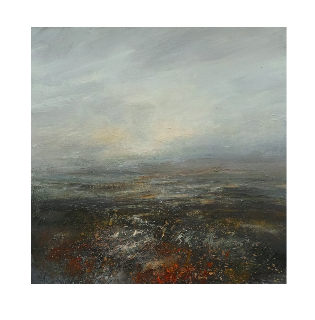 50cm x 50cm End of the Day Burbage Moor £750
