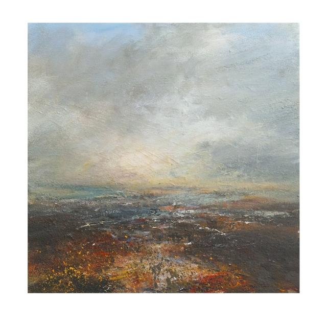 50cm x 50cm Setting Sun Burbage Moor £750