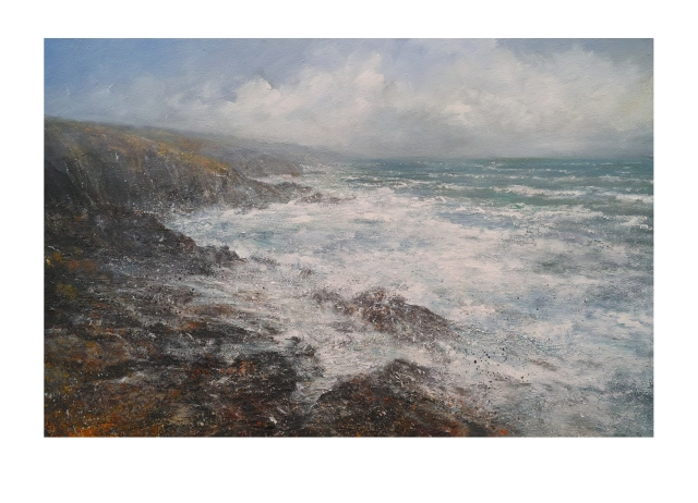 120cm-80cm-northerly-gale-carn-naum-point-zennor-head-1960