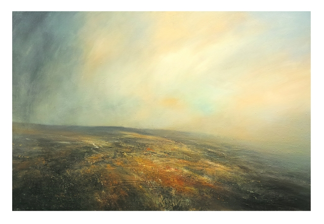 150cm x 100cm Clearing Shower Across Kinder Scout, Peak District £1950