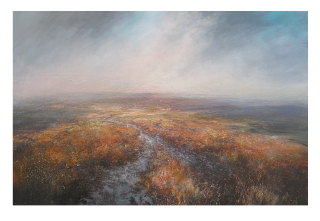 150cm x 100cm The Pennine Way Across Howden Moor, Peak District £1950