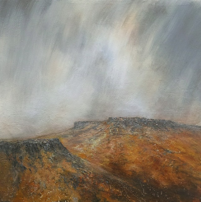 100cm x 100cm Sunshine and Shower Higgar Tor and Carl Wark £1960.JPG
