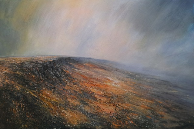 150cm x 100cm Distant Views Across Stanage Edge £2750.JPG