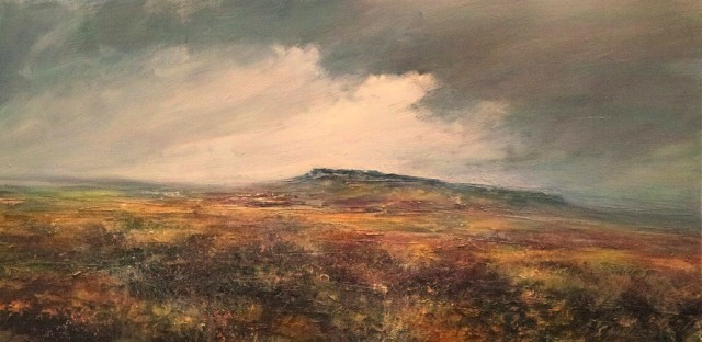 Heather and Tussock Grass Stanage Edge 120cm x 60cm MixedMedia on Canvas.jpg