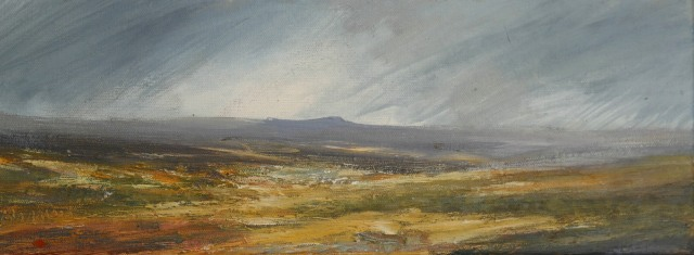 40x15cm Distant View Of Stanage Edge £155