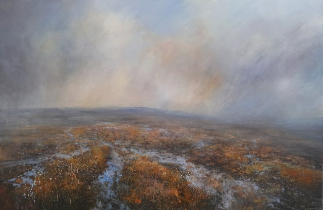 150x100cm Pennine Way Across Howden Moor Peak District £2750